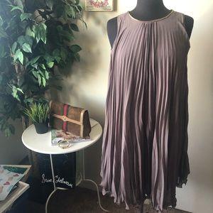3.1 Phillip Lim Silk pleated accordion dress